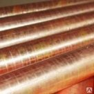 Труба медная марка М1 М2 М3 М2Т МОБ ГОСТ Р 52318-2005 меди
