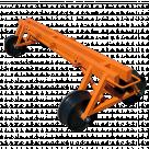 Тележка четырёхколёсная ПКБ-1500 Деплорий г/п 1500 кг, колея 1520 мм/780 мм в Санкт-Петербурге
