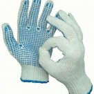 Перчатки ХБ с ПВХ 5 ниток в Калуге