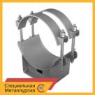 Опоры бугельные бескорпусные неподвижные хладостойкого исполнения для газопроводов по типу ББНХЛ в Москве