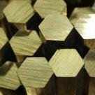 Шестигранник бронзовый БрАМц9-2 ГОСТ 1628-78 в Магнитогорске