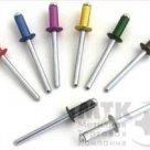 Заклёпки вытяжные комбинированные (алюминий-сталь), DIN 7337 в Липецке