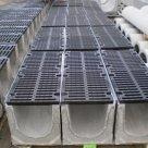 Лоток водоотводный (высокопрочный чугун с шаровидным графитом) 745х125х125 в Липецке