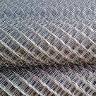 Сетка плетеная рабица оцинкованная d=1 мм в Челябинске