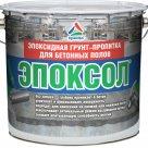 Эпоксол - двухкомпонентная эпоксидная пропитка для укрепления бетона в России