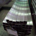 Труба нержавеющая профильная 80х80х3,0 мм зеркальная AISI 304 в Одинцово