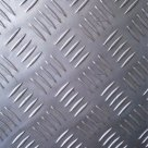 Лист рифленый оцинкованный 5х1500х6000мм чечевица ГОСТ 8568-77 в Казани
