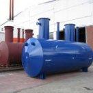 Емкость всасывающая для участка промывной воды V= 2 5 м3, Р-0, 1 Мпа в России