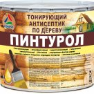 Пинтурол - тонирующий антисептик по дереву, 2.5кг в Екатеринбурге