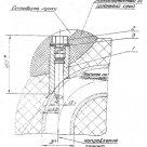 Закладные конструкции ЗК4-5-85 уст.4 скошенная, с резьбой М33х2 по ТУ 36-1097-85 в Туле