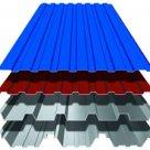 Профнастил полимер СП20 1,15 2м ПЭ RAL5005 сигнально-синий в Омске