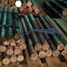 Круг бронзовый БРАЖ9-4 115 мм ПКРНХ ГОСТ 1628-78 в Тюмени