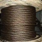 Канат Трос стальной черный, оцинкованный, нержавеющий в Тюмени