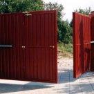 Ворота распашные складчатые серия 1.435.2-28 в России