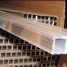 Труба алюминиевая марка АМг2М круглая квадратная профильная в Екатеринбурге