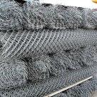 Сетка плетеная оцинк рабица в Тюмени