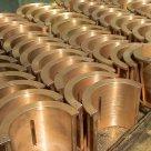 Отливки втулки плашки бронзовые и литье БрОЦС БрОС БрОФ БрАЖ БрАЖМц БрАМц в России