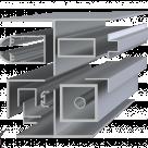 Профиль алюминиевый Д16Т НП ГОСТ 8617-81 в Челябинске
