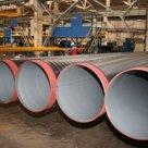 Труба стальная в изоляции на основе экструдированного полиэтиленая в Краснодаре