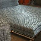 Сетка сварная нержавеющая 3 мм диаметр проволоки 50х50 мм