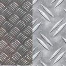 Лист алюминиевый рифленый 1105АНР ТУ1-801-20-2008 Квинтет/Диаман в Екатеринбурге