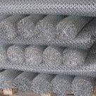Сетка 0.8 - 10х10 - 150х150 рабица оцинкованная