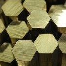 Шестигранник бронзовый БрКМЦ3-1 ГОСТ 1628-78 ДШгНП в Магнитогорске