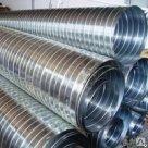 Труба Спирально-витая гофрированная 40 1600 полиэтиленовая ПНД ПВД в России