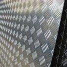 Лист алюминиевый рифленый алмаз АМГ2н2 в Одинцово