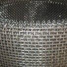 Сетка тканная нержавеющая 12Х18Н10Т 0.08 х0.055