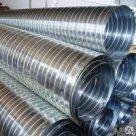 Труба Спирально-витая гофрированная 40 1600 полиэтиленовая ПНД ПВД в Москве