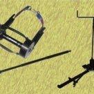 Лебедка механическая ЛР 1/3Ш для извлечения и установки шпал 1тн, канатоемкость 3 м в Екатеринбурге