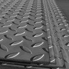 Лист рифленый алюминиевый 8мм сталь Д16АТ чечевица ромб в Челябинске