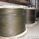 Канат стальной ГОСТ 3066-80 6х7(1+6)+1х7(1+6) в России
