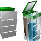 Автономная канализация пластикова полиэтиленовая с бактериями и без в Уфе