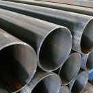 Труба сварная (grit 320), HF, AISI 304 шлифованная