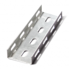 Перфорированный швеллер К018 1 или 3 перфорации, толщина 1,5, ТУ 36-1434-82