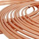 Медная труба стандарт ASTM кондиционерная в бухтах по 15, 30 и 50 метров 7/8 в России