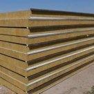 Стеновые сэндвич панели с минватой 100 кг/м3, дл. 2 000 14 000 мм в России