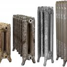 Дизайн-радиаторы чугунные алюминиевые биметалические в России