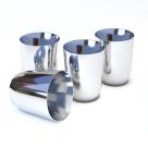 Тигель платиновый для вискозиметра № 217-5 65 см3 40х60х1,1х1х2х2х10 мм