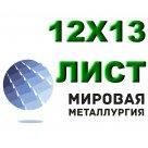 Лист 12Х13 сталь хромистая нержавеющая мартенсито-ферритного класса ГОСТ 5632-72, ГОСТ 5582-75, ГОСТ 7350-77