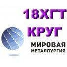 Круг 18ХГТ сталь конструкционная легированная ГОСТ 4543-71, ГОСТ 7417-75, ГОСТ 2590-2006