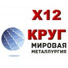 Круг Х12 сталь инструментальная легированная ГОСТ 5950-2000, ГОСТ 1133-71, ГОСТ 2590-2006 в Омске