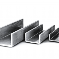 Швеллер гнутый оцинкованный, нержавеющий сталь 12х18н10т, 08х18н10, 08х17т, AISI304, AISI321, AISI 439, дл 9-12м