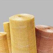 Сетка латунная тканая полутомпаковая фильтровая Л80 ГОСТ 6613-86, 3187-76