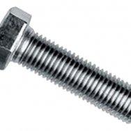 Болт стальной DIN 933 A 2 M 10x25