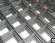 Сетка сварная 1000 х 2000 мм D = 4 мм ячейка 100 х 150 мм