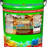 Биодрев AQUA 3 в 1  защитно-декоративный тонирующий антисептик на водной основе для дерева