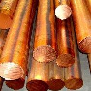 Круг бронзовый БрОЦС 555, БрАЖ 9-4, БрАЖМц 10-3-1.5